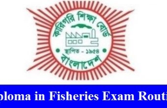 Diploma in Fisheries Exam Routine 2019 – www.bteb.gov.bd