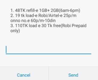 Robi 3GB 48 TK Internet Offer 2018