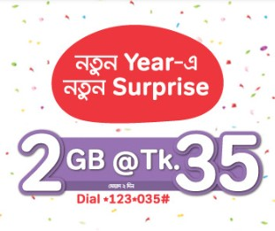 Airtel 2GB 35 TK