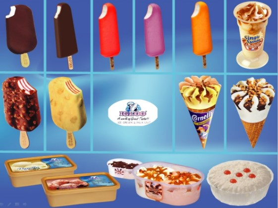 All Ice Cream Company list in BD