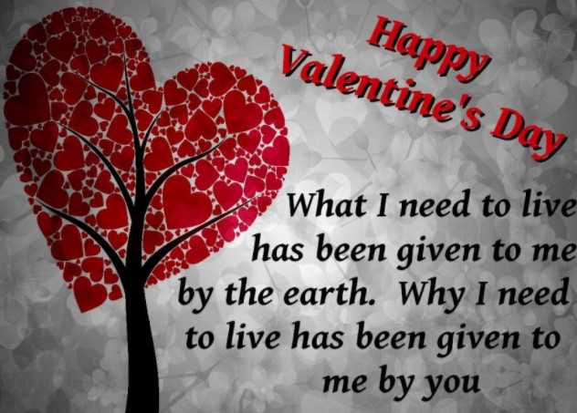 Happy Valentine's Day Picture with Quotes