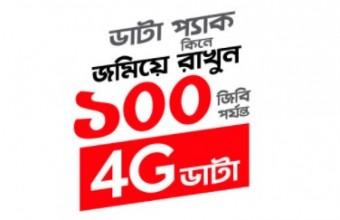 Up to Robi 4G 100GB Bonus Internet Offer 2018
