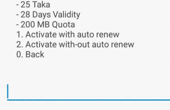 Airtel 200 MB 28 Days Validity @ 25 TK Offer