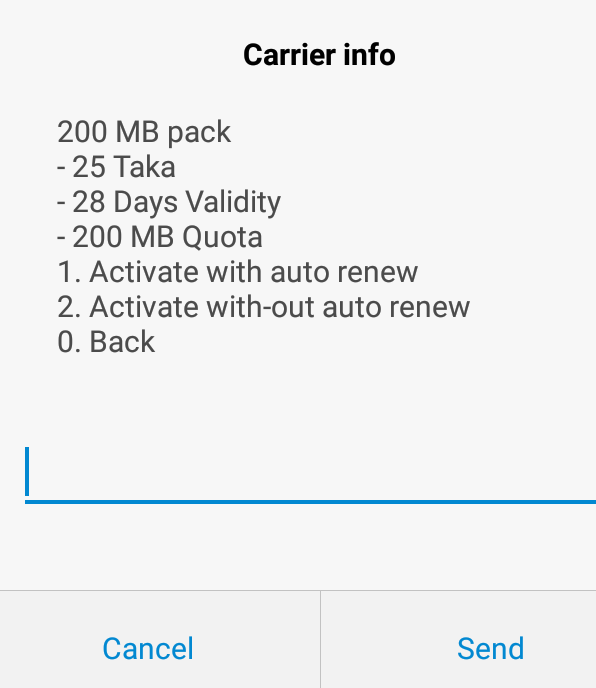 Airtel 200 MB 28 Days Validity @ 25 TK Offer