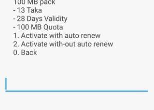 Airtel BD 100 MB Validity 28 Days at 13 TK Offer
