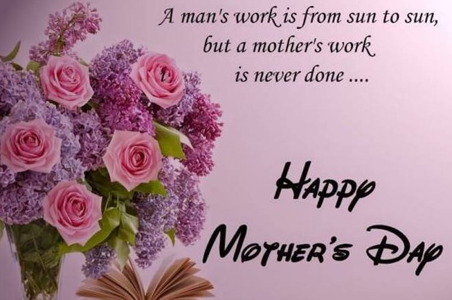 Mother's Day Picture with harttouching quotes