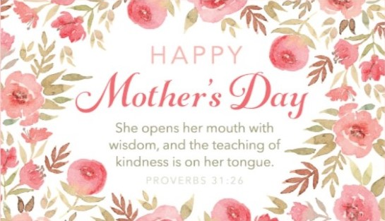 Mother's Day SMS in image