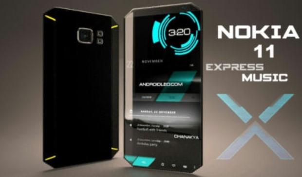 Nokia 11 - Nokia NX Express Music 2018