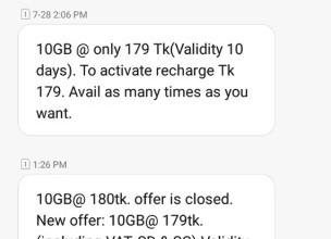 Teletalk 10GB Internet 179 TK Offer Activation Code, Validity & Eligibility