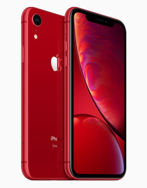 Apple iPhone XR Official Image of Red color