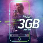 GP 3GB 148 TK Internet Offer