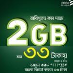 Teletalk 2GB 33 TK