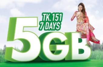 Teletalk 5GB 151 TK Internet Offer Activation Code, Validity & More