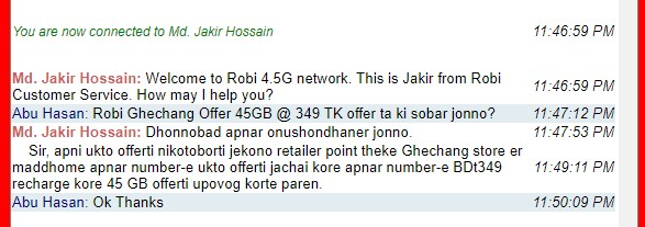 Robi Ghechang Offer
