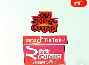 Robi TikTok 2GB Bonus Internet Offer