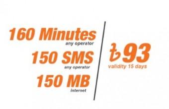 Banglalink 93 TK Bundle Offer – 160min+150SMS+150MB@93TK