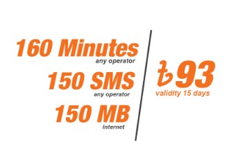 Banglalink 93 TK Bundle Offer – 160min+150SMS+150MB@93TK