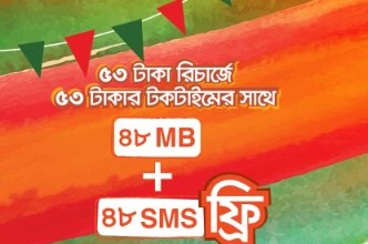 Bijoy Dibosh Offer – Banglalink Victory Day Offer 2019