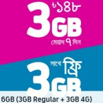 GP 6GB 148 TK Offer