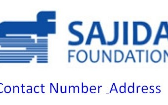 Sajida Foundation Address, Contact Number, Email & Founder Info