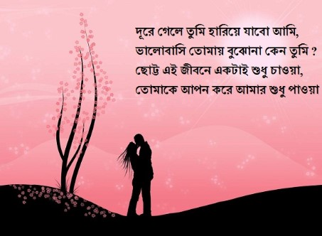Happy Valentine Day Bangla Kobita for Wife