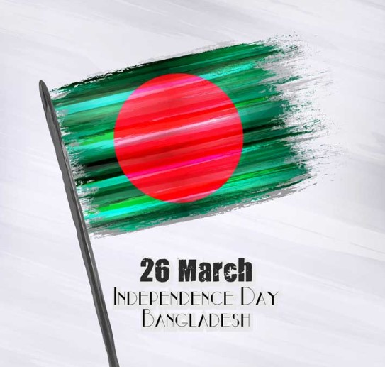 Drawing of 26 March  independence day of bangladesh