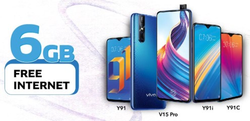 Vivo Y91I; Vivo Y91; Vivo Y91C & Vivo V15 Pro GP Offer
