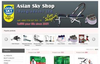 www.asianskyshopbd.com – Asian Sky Shop Bangladesh Helpline & Office Address