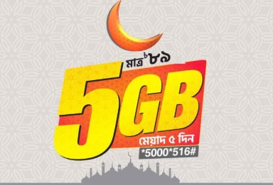 Banglalink EID Offer 2019 - 5GB Internet at 89 TK