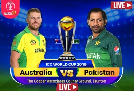 AUS vs PAK Live Cricket world cup match 2019