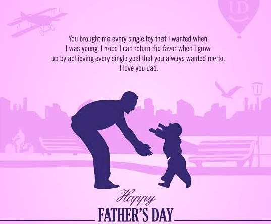 "Dad ""I Love You"" - Father's Day 2020 Wishes Image & Quotes (US, UK, India, Philippines, South Africa, Turkey)"