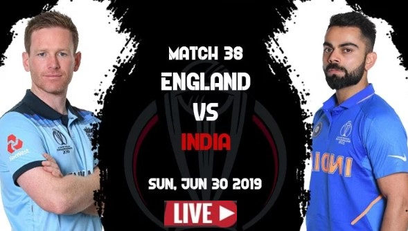 Live: World Cup 2019 | ENG VS IND Live Streaming TV Channel Link