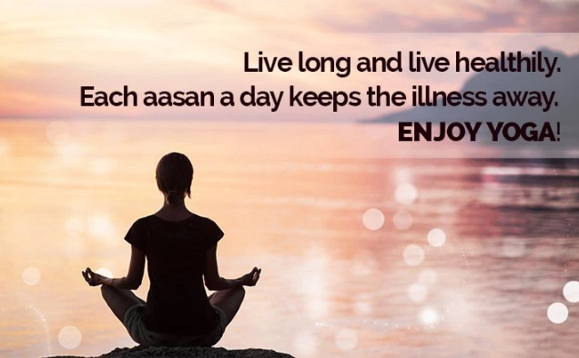 Happy Yoga day Inspirational Messages with Good Wishes
