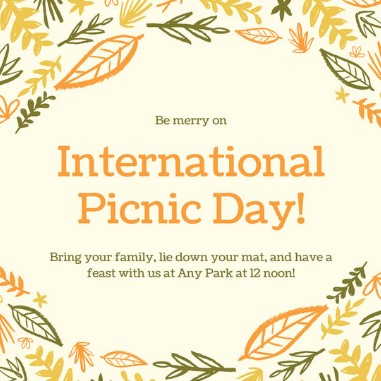International Picnic Day Wishes Quotes