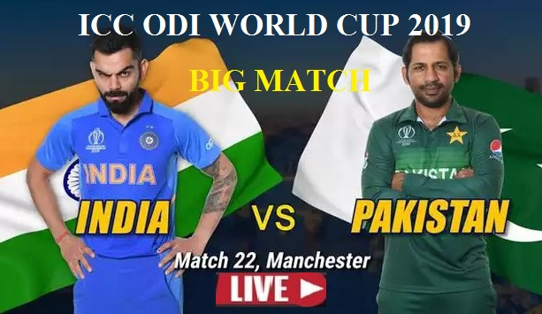 Live: IND Vs PAK | World Cup 2019 | Live Scores and Commentary