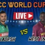 Live Streaming Online - BAN VS WI (ICC World Cup 2019) - TV Channel