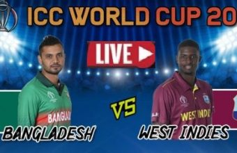 Live Streaming Online: BAN VS WI (ICC World Cup 2019) – TV Channel