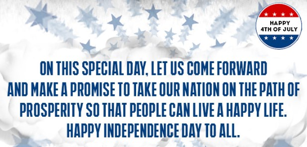 4th of July Wishes Quotes & Messages