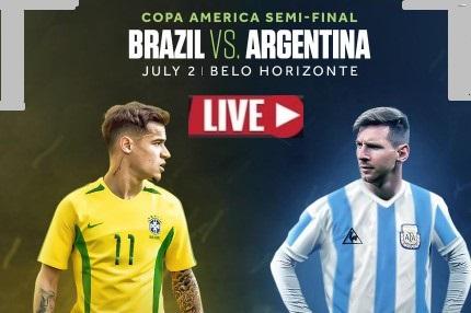 Argentina VS Brazil - Copa America Semifinal Live Stream, Prediction, TV Channel, Start time, Watch Online & News