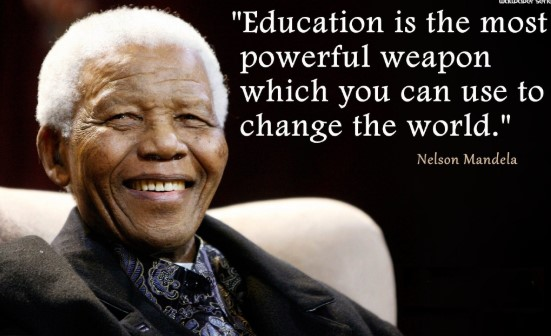 Best Nelson Mandela Quotes about Education