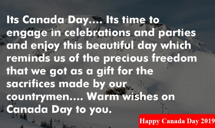 Happy Canada Day 2019 Status, Short & 2 Line Status, Whatsapp Video Status for Independence Day