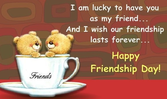 Happy Friendship Day Wishes & Messages with Images & Pictures