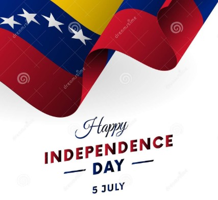 Happy Independence Day Venezuela - 5th July Image, Picture & Wallpaper