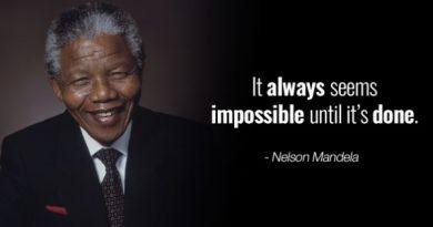 Best Inspiring Nelson Mandela Quotes for Celebrate Nelson Mandela International Day 2019