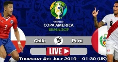 Peru VS Chile Copa America 2019 Semifinal Live Stream, Prediction, TV Channel, Start time, Watch Online & News
