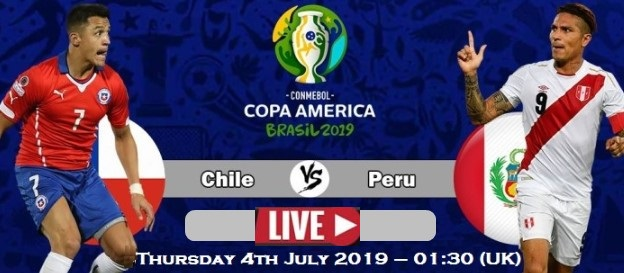 Peru VS Chile Copa America 2019 Semifinal Live Stream, Prediction, TV Channel, Start time, Watch Online & News