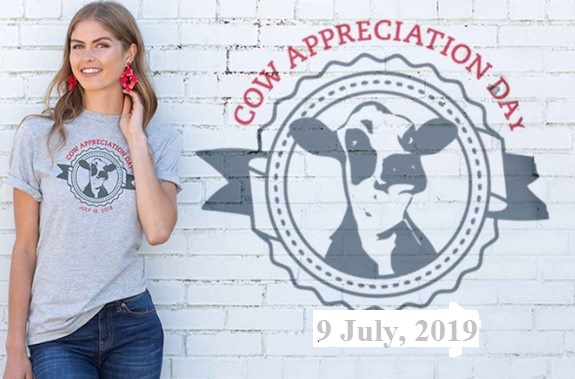 cow appreciation day 2019 shirt Update Design