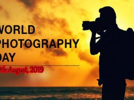 19th August, 2019 - World PhotoGraphy Day