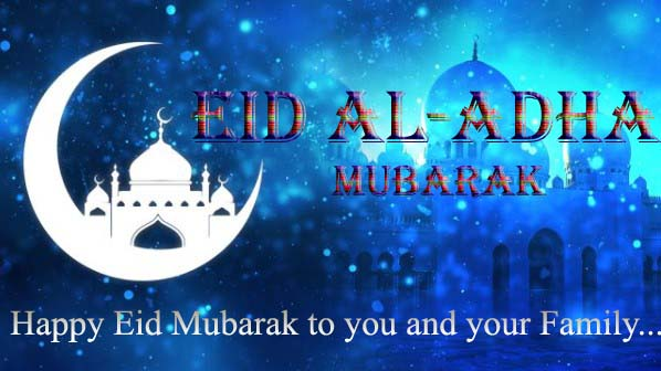 Eid al-Adha Messages 2019 with Pic, Image, Photo & Wallpaper
