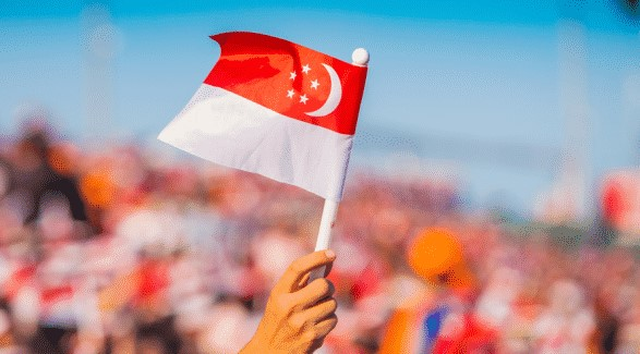 Featured image of Singapore Independence Day Parade - Singapore National Flag